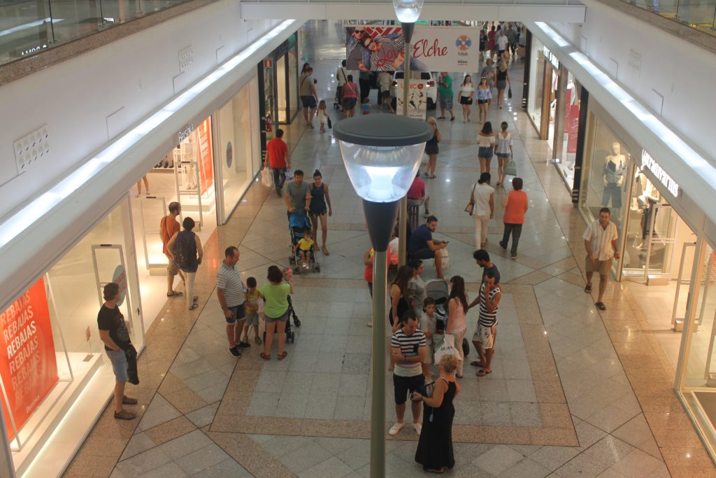 centro comercial laljub