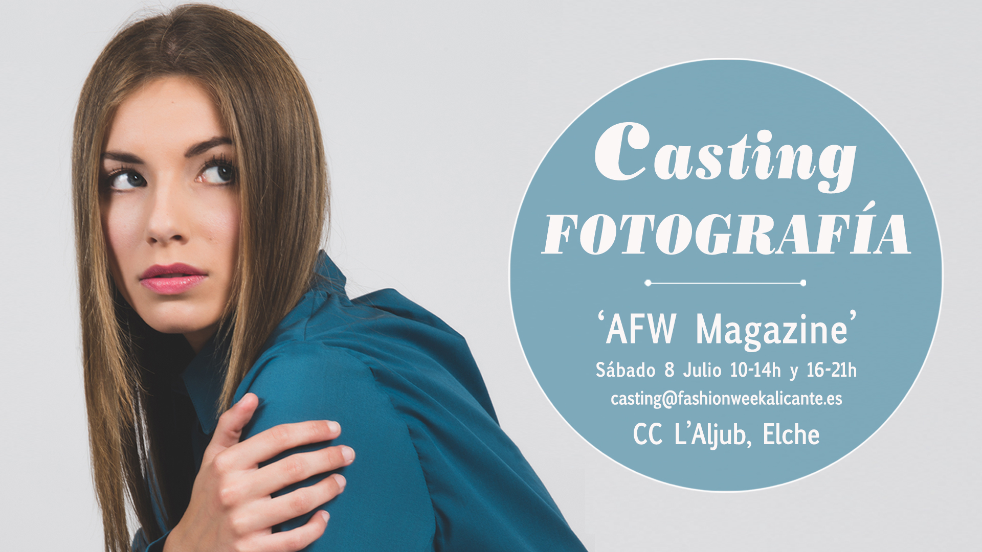 Casting Modelos Fotografía Alicante Fashion Week