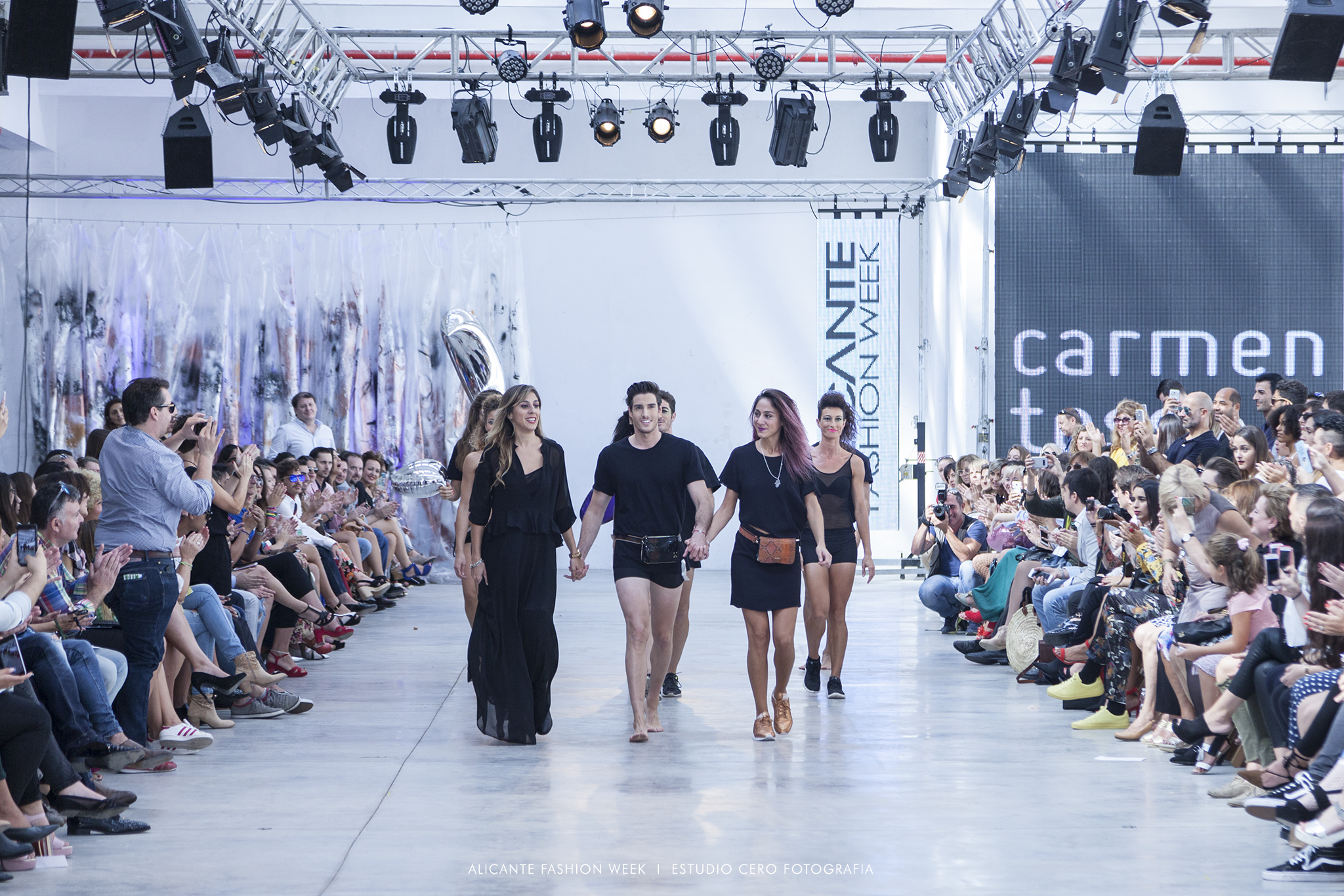 Carmen Tessa Alicante Fashion Week 2017