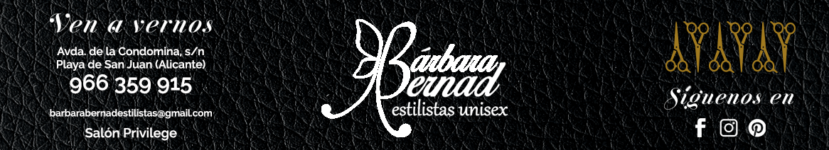 barbara bernald estilistas unisex alicante fashion week