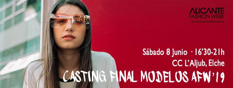portada facebook Casting final ALICANTE FASHION WEEK